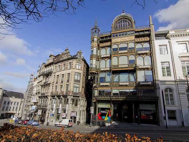 Центр Брюсселя: музей музыкальных инструментов