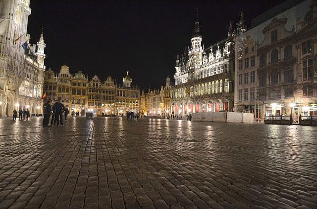 Брюссель: Гран-плас