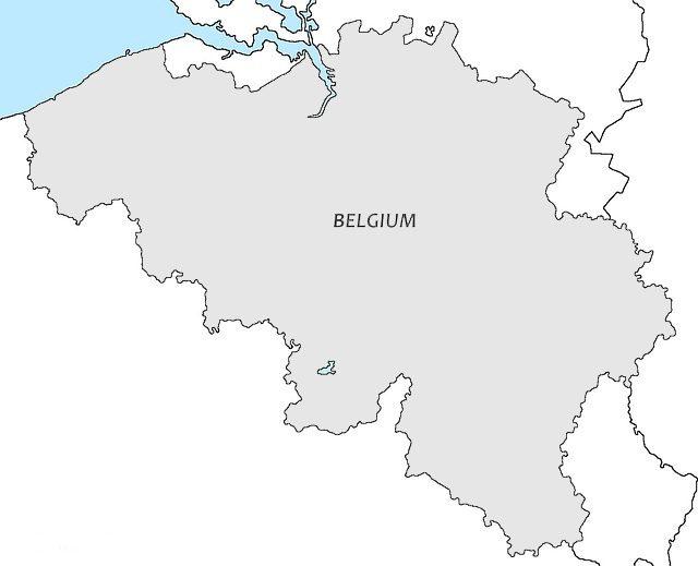 С кем граничит Бельгия