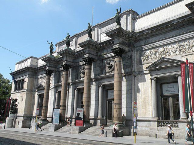 Комплекс Королевских музеев изящных искусств в Брюсселе