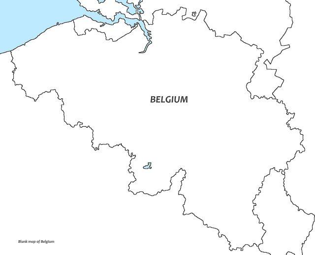 Географическое положение Бельгии